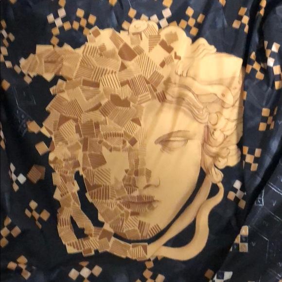 c4a78e362 Versace baroque Medusa print bomber jacket